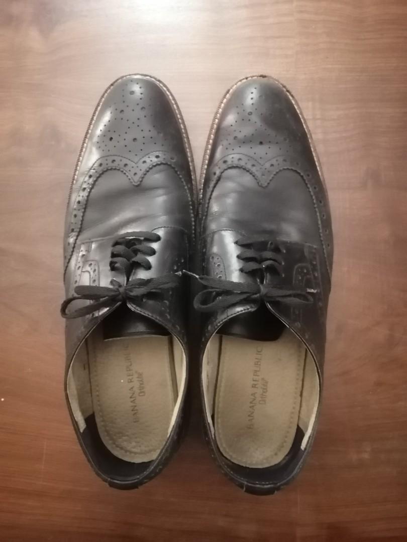 Banana Republic Brogue Oxford Dress Shoes