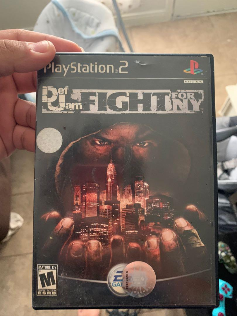 Def jam fight for ny