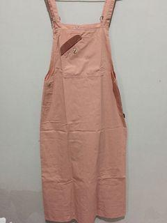 free ongkir overall pink