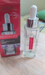Loreal paris revitalift hyaluronic acid