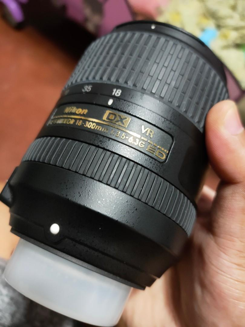Nikon  18-300mm AFS VR 3.5 All around Lens Nikon bodies
