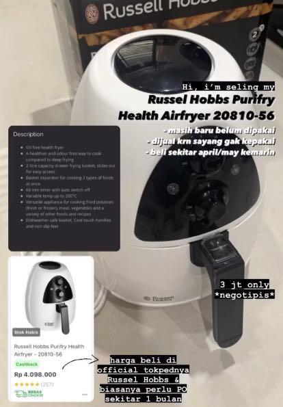 Russel Hobbs Purifry Health Airfryer