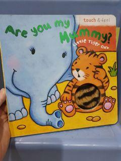 Touch and feel story book