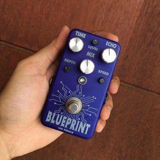 Vfe pedals blueprint analog voiced echo delay