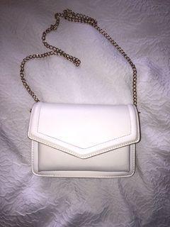 White Aldo bag