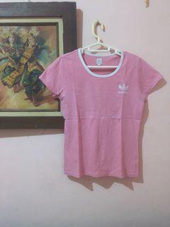 Adidas shirt / kaos pink