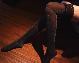 Knee high socks lace  🌹