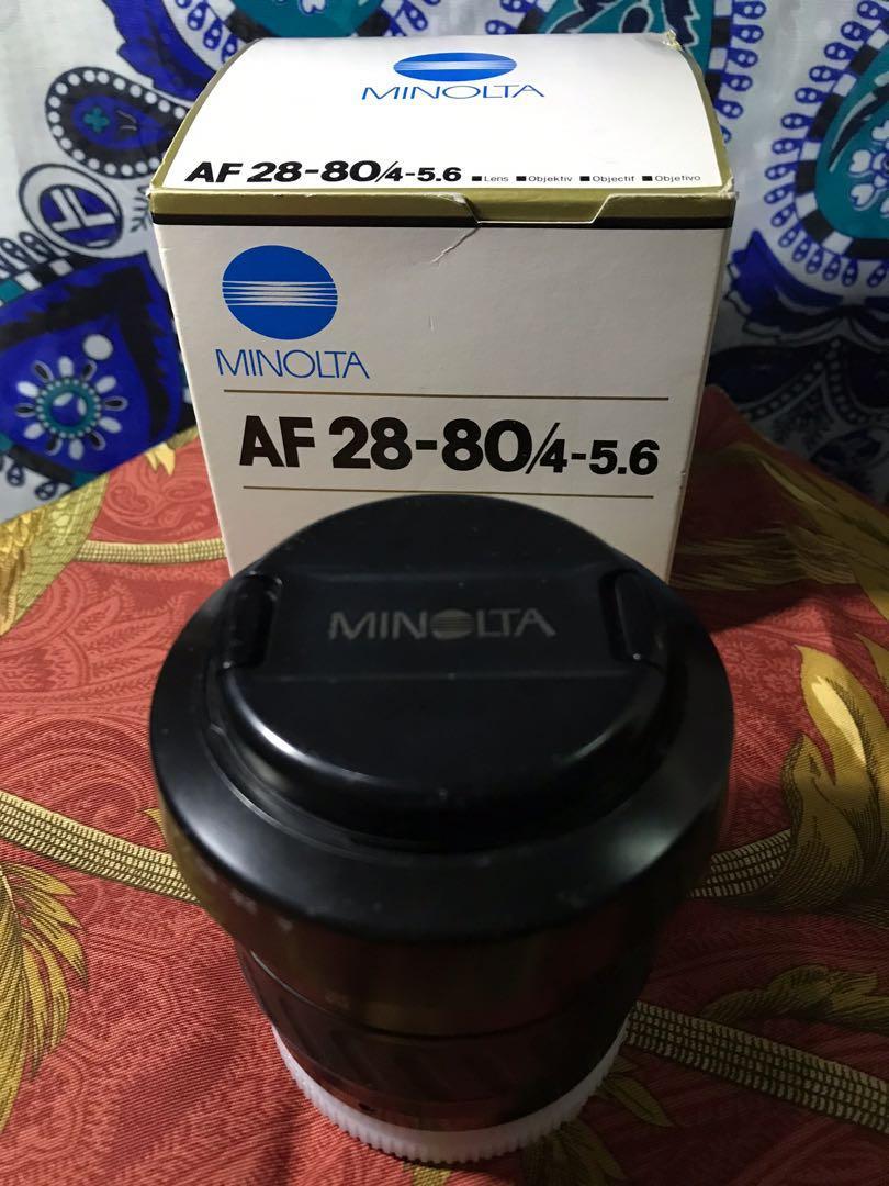 Konika AF 28-80/4-5.8