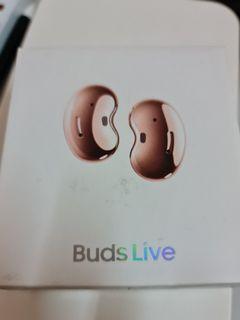 New Sealed Box Samsung Buds Live (Bronze)