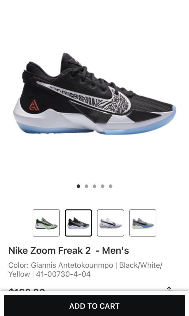 Nike Zoom Freak 2- Men's
