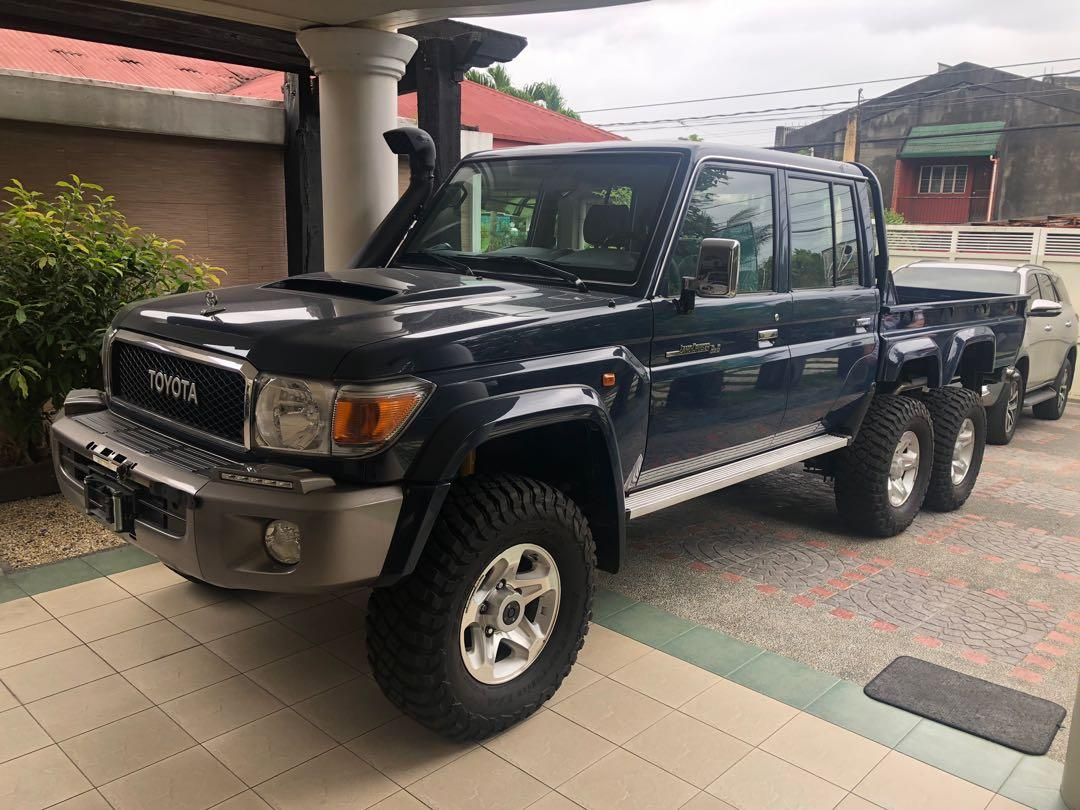 Toyota Land Cruiser 70 Series 6x6 Manual Cars For Sale New Cars On Carousell