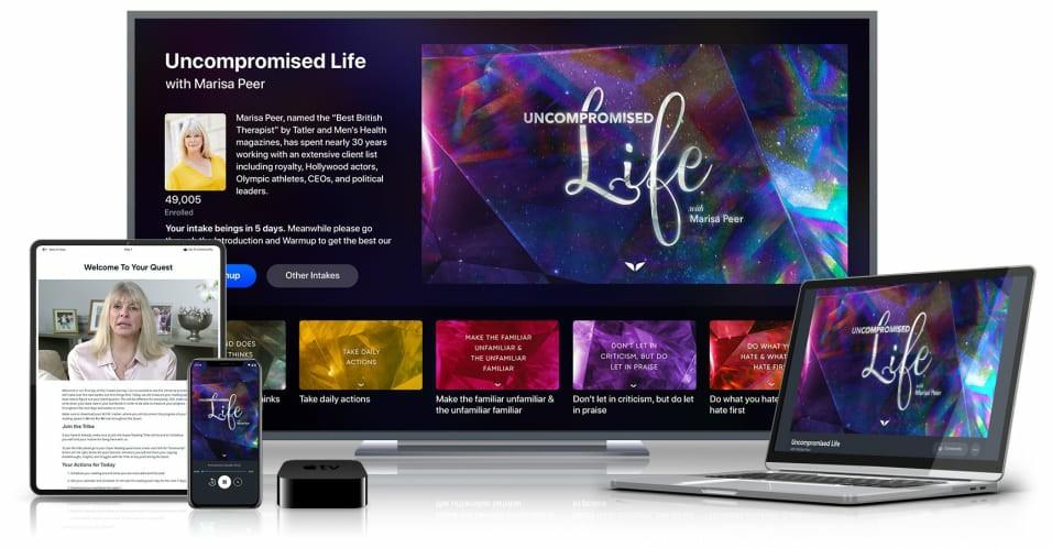 Uncompromised Life Mindvalley Marisa Peer Course