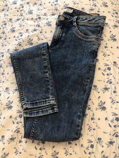 Zara jeans size 24
