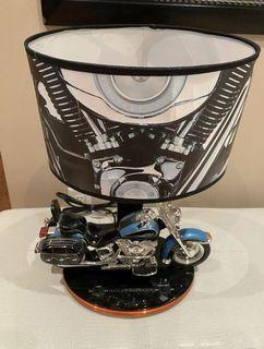 2008 Harley Davidson Motorcycle Table Lamp With Sounds