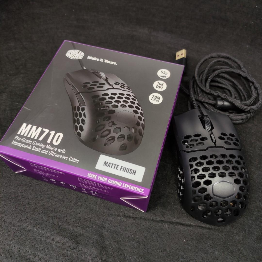二手保固中 Cooler Master MM710 超輕量 電競滑鼠 酷碼