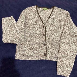 極新 專櫃ESPRIT古著針織外套#毛衣