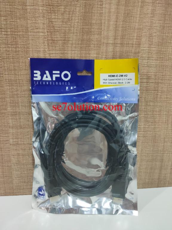 Bafo Kabel HDMI to HDMI 2.0 with Ethernet 2M