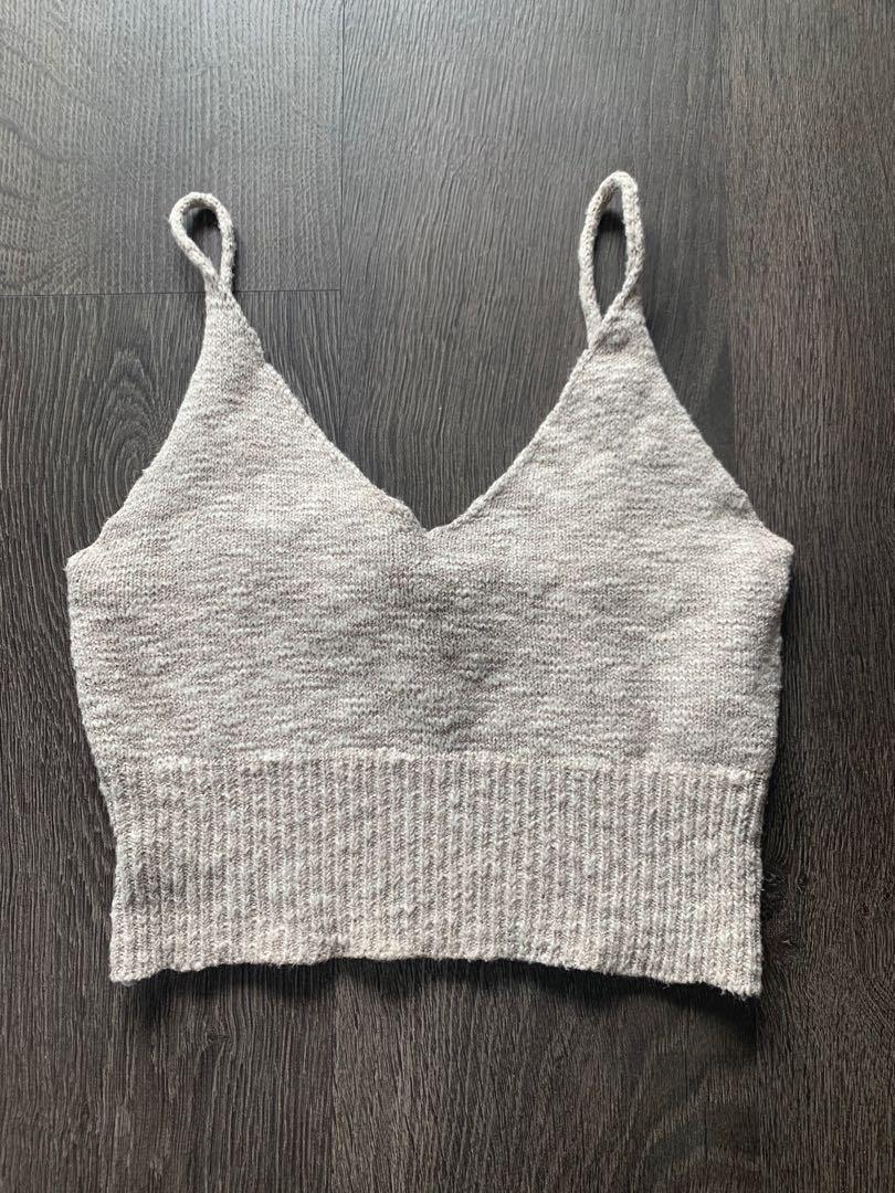 Beige Knit Tank Size S/M