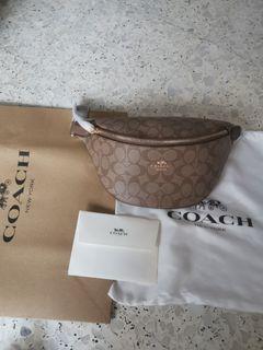 BN Coach Women's Waist/Sling Bag