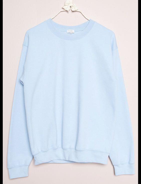 Brandy Melville Baby Blue Sweatshirt