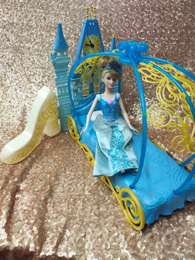 Cinderella Barbie Bed Play Set Babies Kids Toys Walkers On Carousell