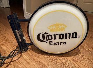 Corona Beer Bar Lighting Wall Sign Light LED (perfect for Man Cave)