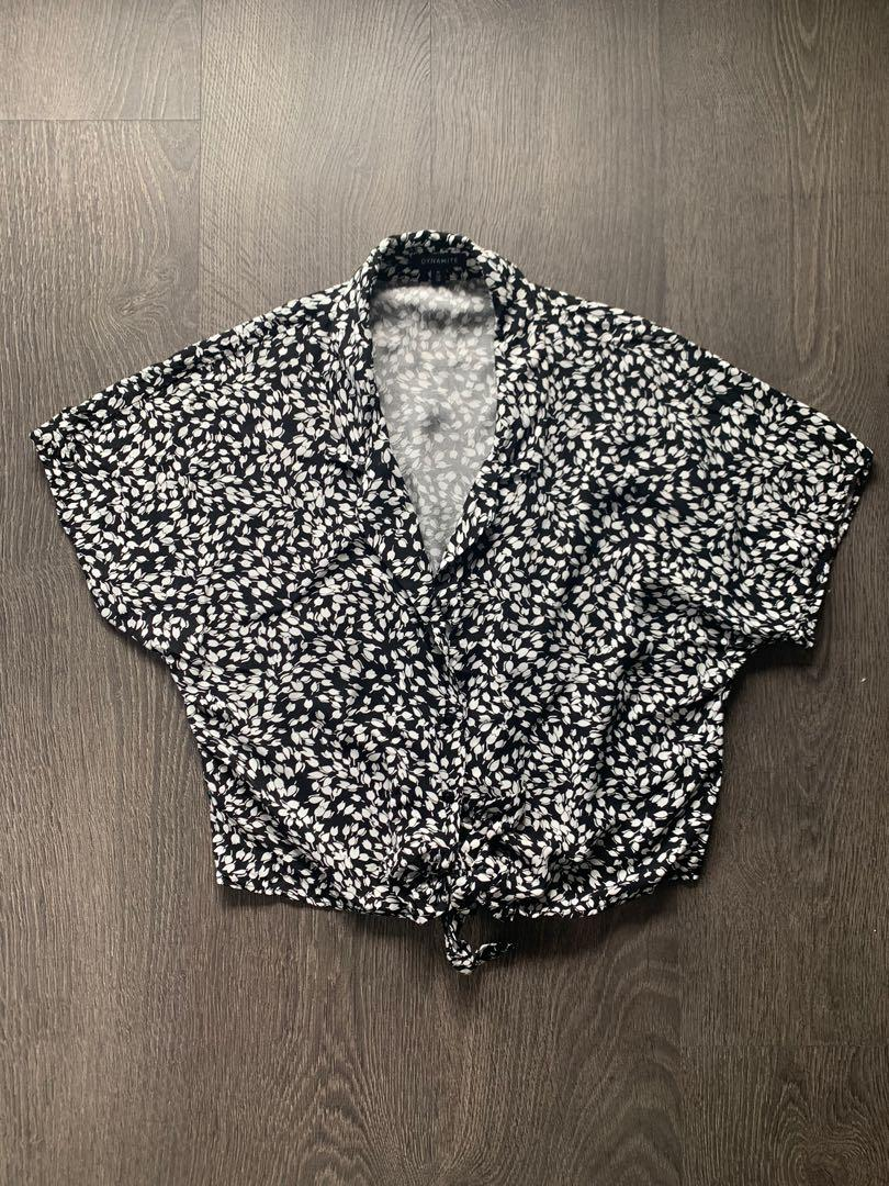 Dynamite Tie Front Top Size Small / Medium