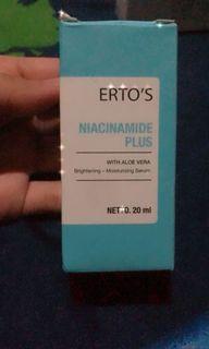 Ertos Niacinamide Plus Serum