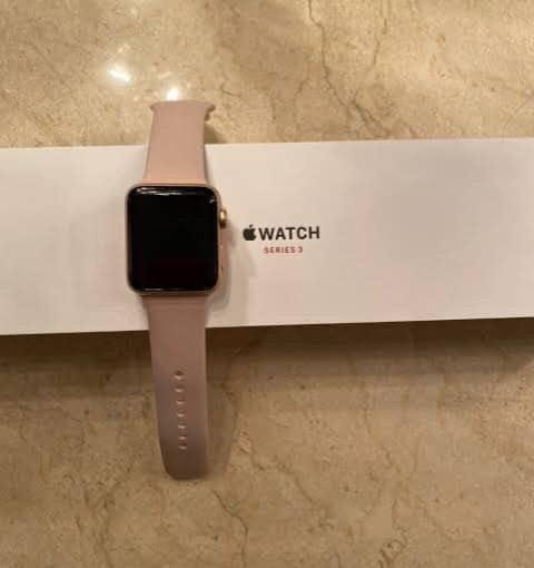 I'm giving out my Apple Watch