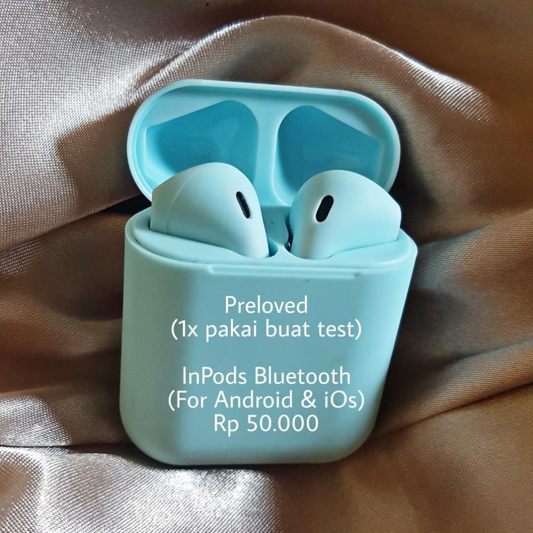 Inpods bluetooth wireless android & ios/iphone