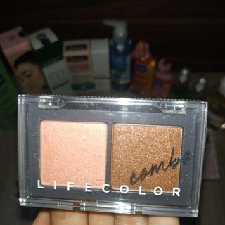 [FREE ONGKIR] It's skin eyeshadow Life color combo