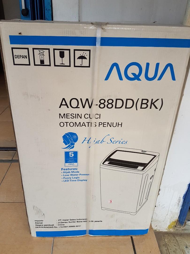 Kredit Mesin cuci 8kg DP murah gratis admin