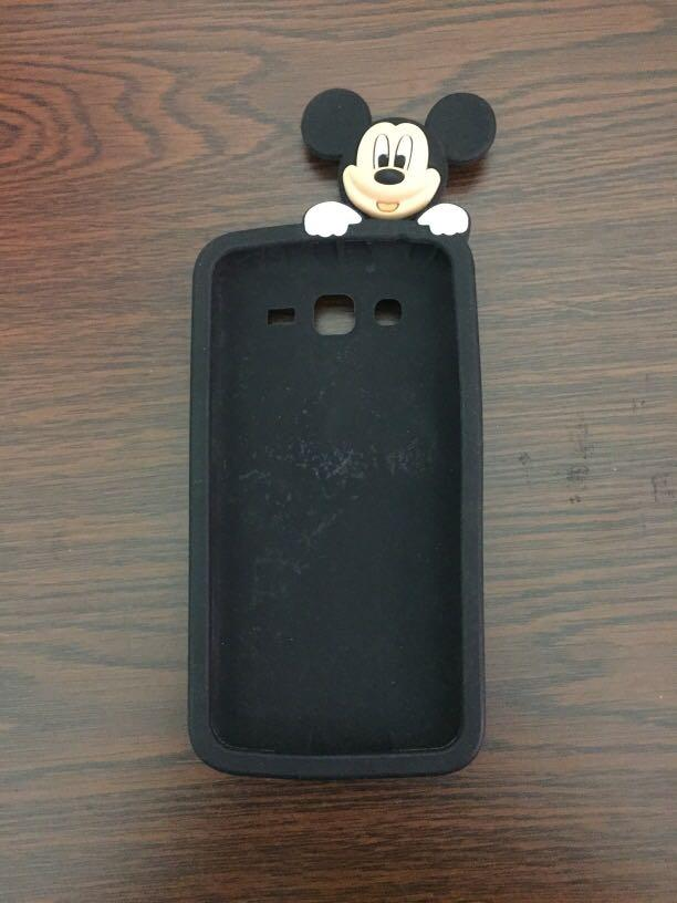 Mickey mouse silicone case