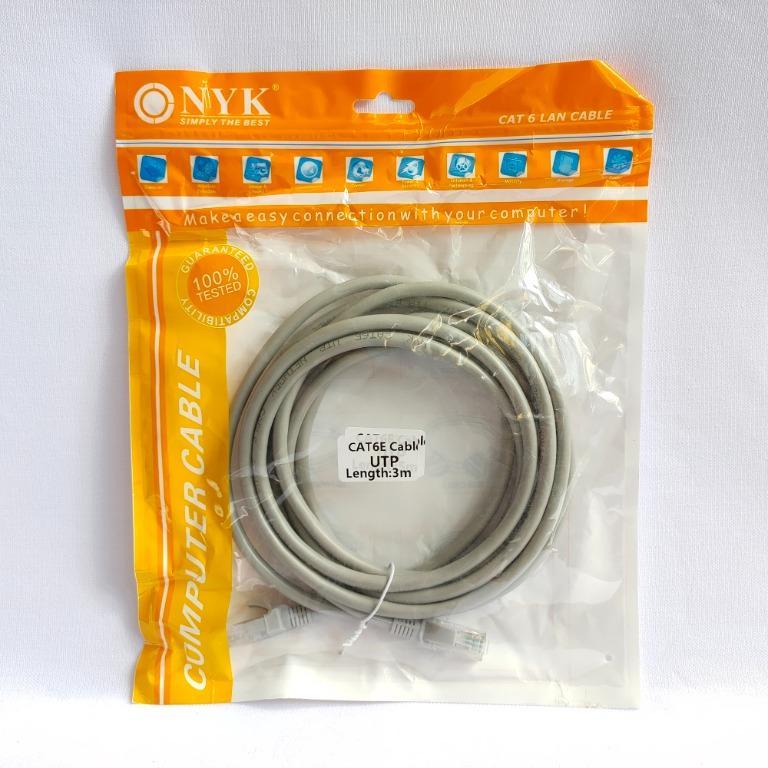 NYK Kabel LAN Internet UTP Cat6E 3M