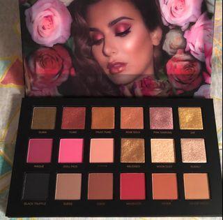 Original Brand New Huda Beauty Rose Gold Remastered Eyeshadow Palette