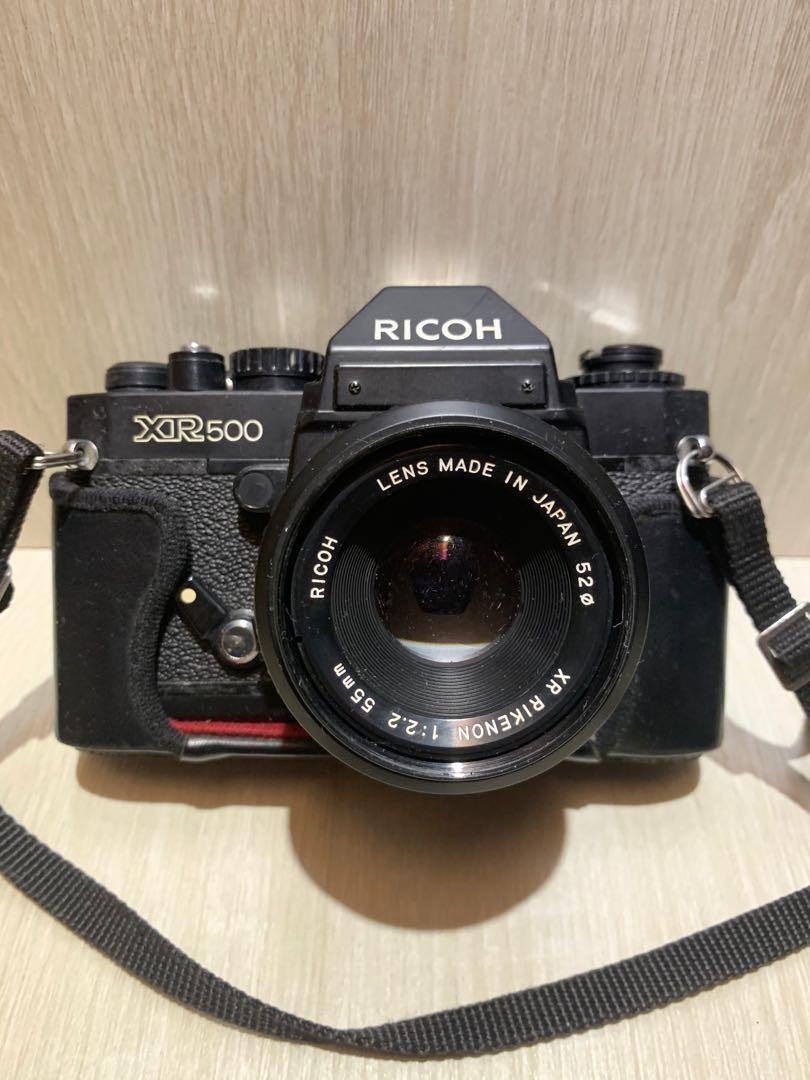 RICOH XR500機械相機 早期底片相機 早期相機 底片相機 老相機 (零件機出售)
