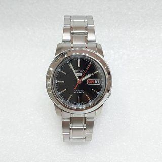 Sekio 5 automatic black colour 精工5號自动錶