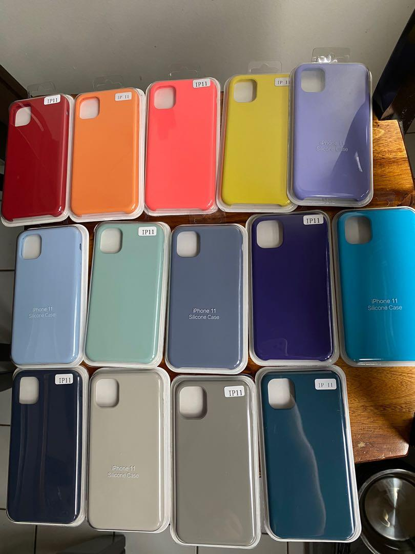Silicone Iphone 11 Cases