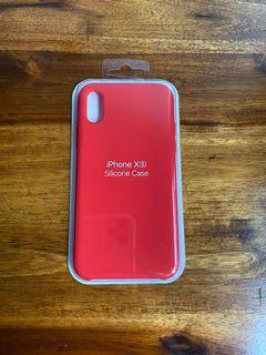 Silicone IPhone XS case