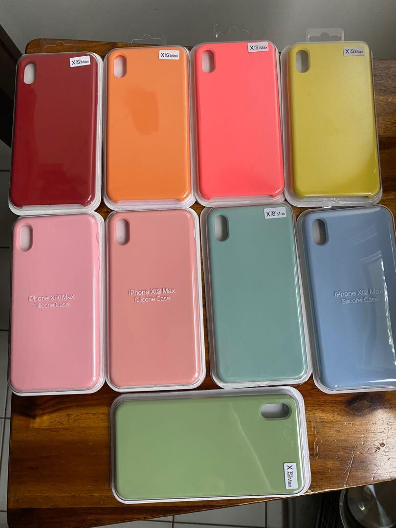 Silicone IPhone XS Max Cases