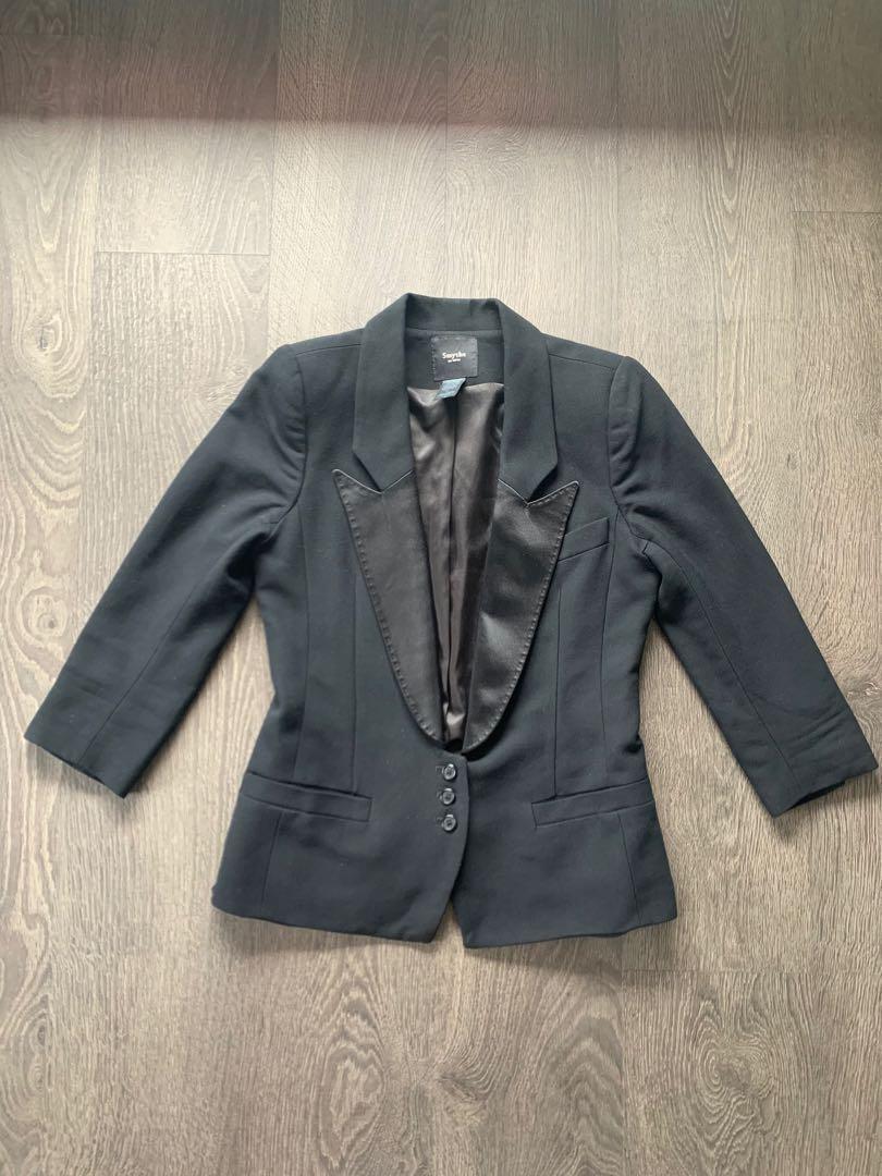 Smythe Tuxedo Style Blazer Size 6 Small