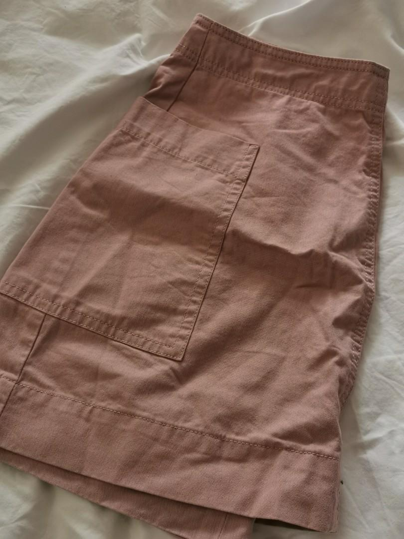 Supre pink mini skirt with pockets