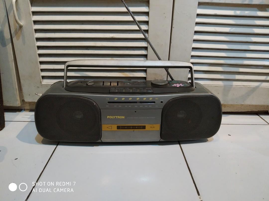 Tape Radio Polytron grand compo