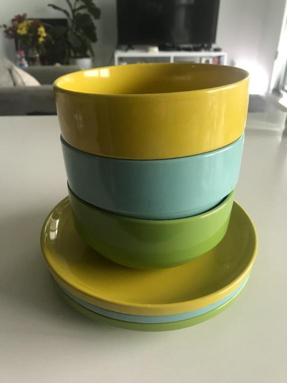 Urban Outfitters Stackable Plates and Bowls
