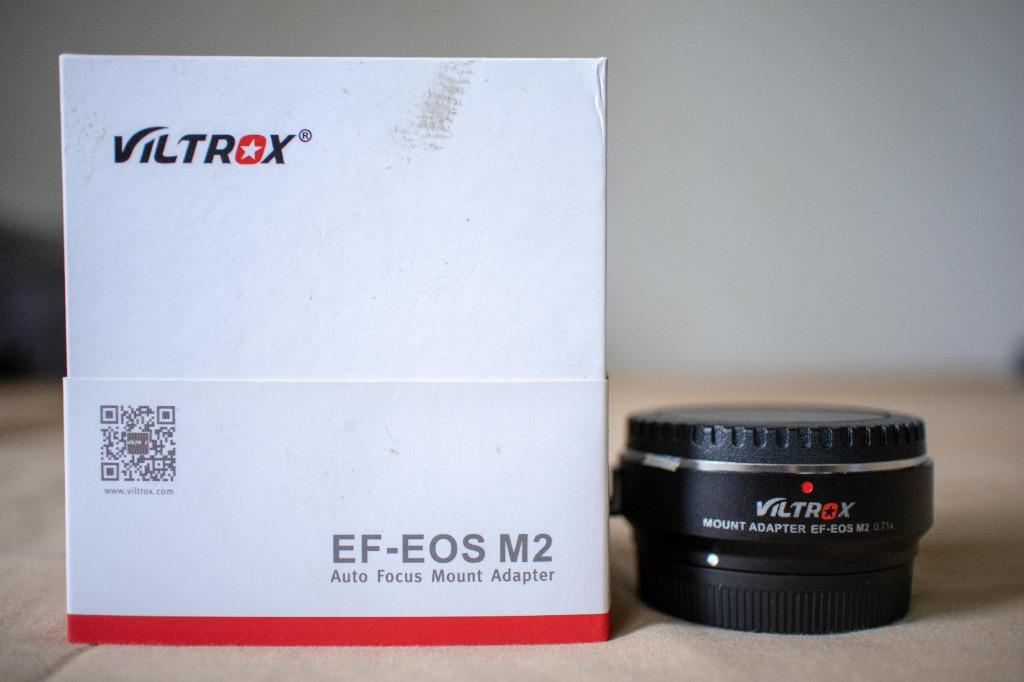 Viltrox EF-EOS M2 0.71x Speed booster EOS M to Canon EF Lens Adapter