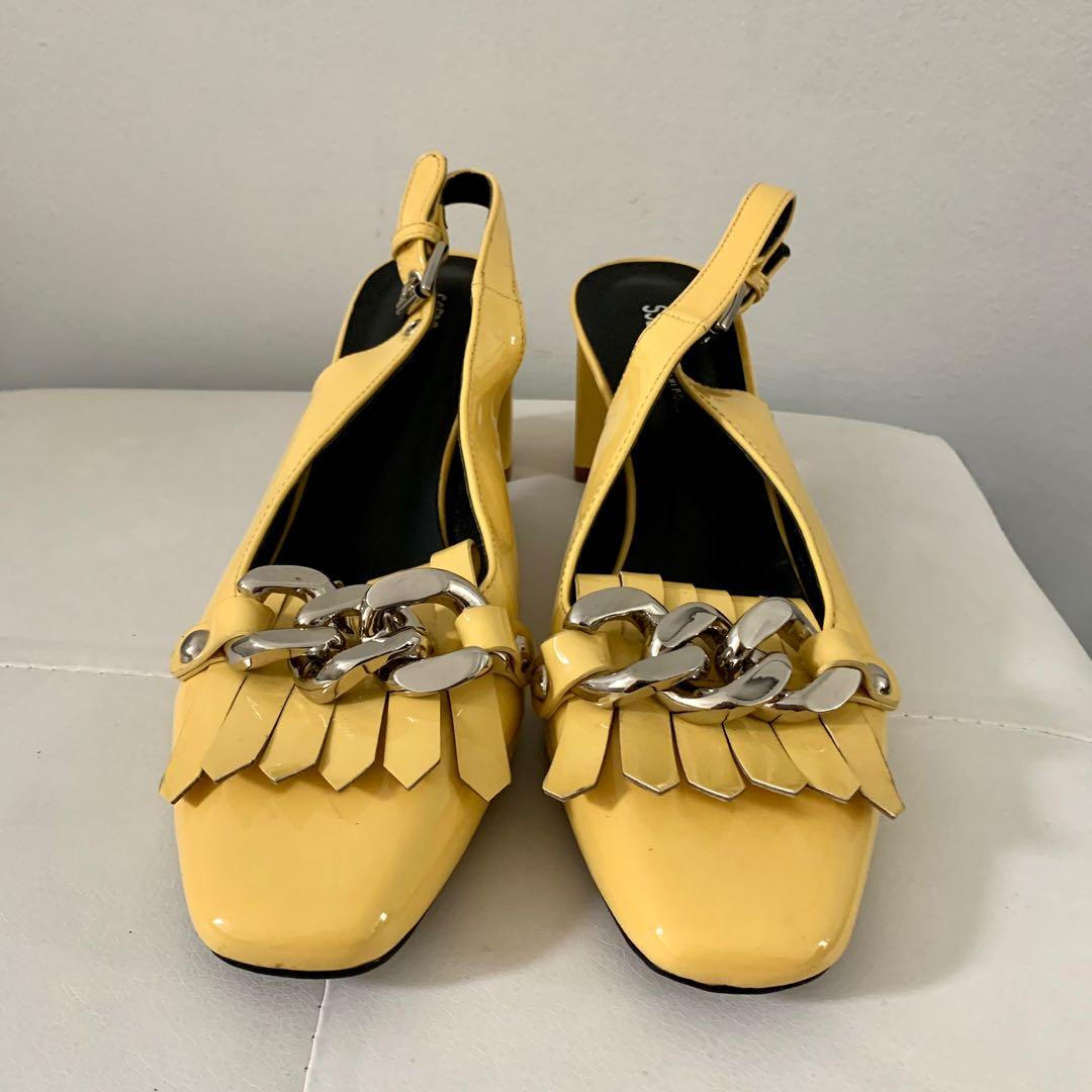 Yellow Mule Sandals