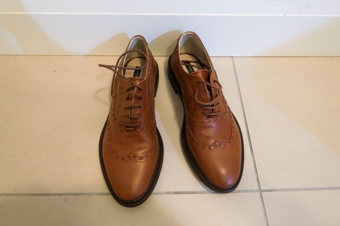 Zara Brown shoes 7