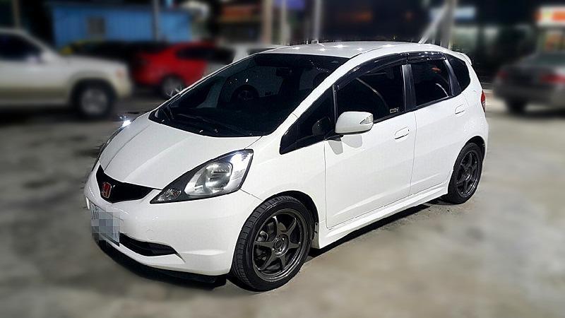 2010 Honda FIT 1.5L白