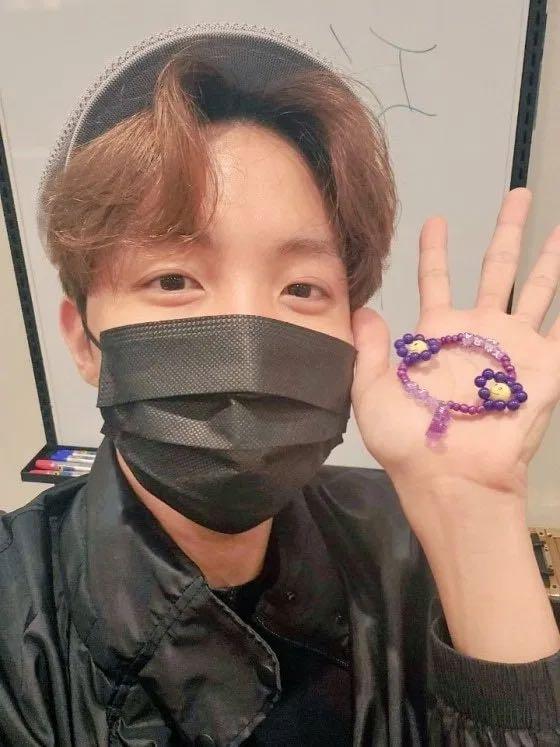✨現貨✨ 韓國🇰🇷 BTS 💜 ARMY JHOPE 直播 DIY 同款手環 組合包 防彈少年團同款 鄭號錫 手鍊