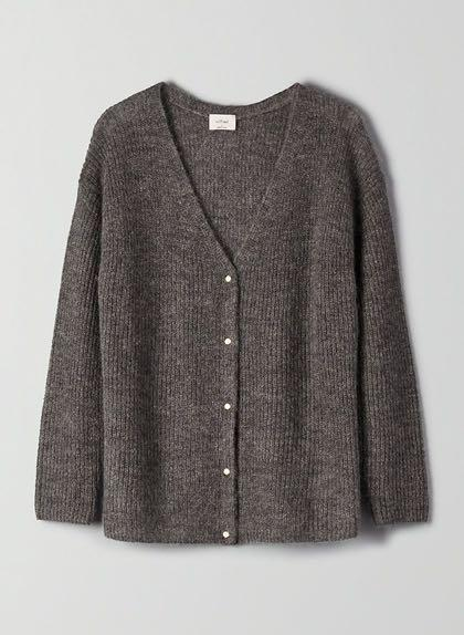 Aritzia Wilfred Front to back cardigan